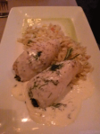 Chicken with Beurre Blanc
