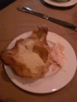 Paulette's signature popovers and strawberry butter